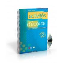 Activités d'écoute 2 + CD audio - 9788853600080