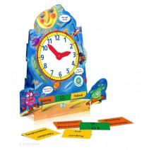 Kalenderuhr - nauka czasu zegarowego i daty - język niemiecki - 9788881484744