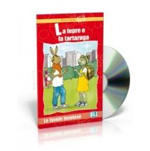 La lepre e la tartaruga + CD audio - 9788881487820