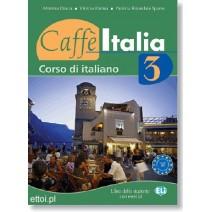 Caffe Italia 3 libro dello studente con esercizi + CD audio - podręcznik z ćwiczeniami - 9788853602312