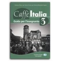 Caffe Italia 3 guida per l'insegnante - 9788853602329