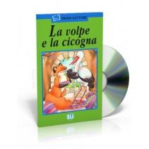 La volpe e la cicogna + CD audio - 9788881487240
