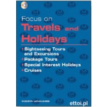 Focus on Travels and Holidays + CD audio - 9788849302400