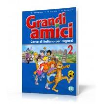 Grandi amici 2 Corso di italiano per ragazzi - podręcznik ucznia - 9788853601537