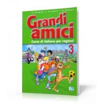 Grandi amici 3 Corso di italiano per ragazzi - podręcznik ucznia - 9788853601575