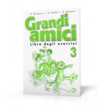 Grandi amici 3 Libro degli esercizi - zeszyt ćwiczeń - 9788853601582