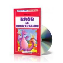 Brob le Brontosaure + CD audio - 9788846825155