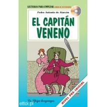 El capitán Veneno + CD audio - 9788846825285