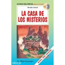 La Casa de los Misterios + CD audio - 9788846825315