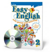 Easy English with games and activities 2 + CD audio - 9788853604392