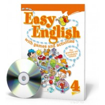 Easy English with games and activities 4 + CD audio - 9788853604415