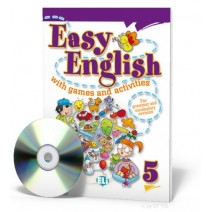 Easy English with games and activities 5 + CD audio - 9788853604422