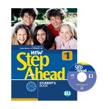 New Step Ahead 1 - Student's Book + CD-ROM - 9788853610614