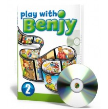 Play with Benjy 2 Book + English cartoons and activities on DVD - 9788853604354