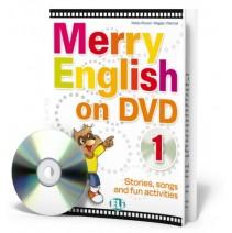 Merry English on DVD 1 - (Book + DVD) - 9788853604361