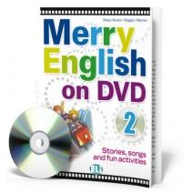 Merry English on DVD 2 - (Book + DVD) - 9788853604378