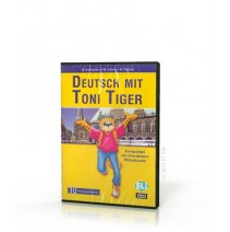 Deutsch mit Toni Tiger DVD - 9788853603395