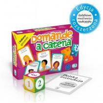 Domande a catena  - gra językowa z polską instrukcją i suplementem - 9788853604705