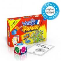 Voyage en France - gra językowa z polską instrukcją i suplementem - 9788853604644
