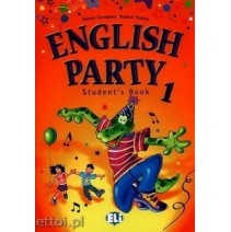 English Party 1 Student's Book - 9788853600974