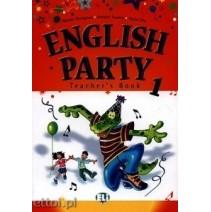 English Party 1 Teacher's Book - 9788853601056