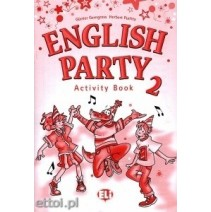 English Party 2 Activity Book - 9788853601025