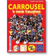 Carrousel - le monde francophone + CD audio - 9788849303568