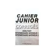 Cahier junior - DELF Scolaire A1-A2 corrigés - 9788846814289