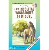 Las Insólitas vacaciones de Miguel + CD audio - 9788846827258