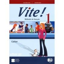 Vite! 1 Cahier - zeszyt ćwiczeń + 1 CD audio - 9788853606068
