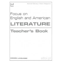 Focus on English and American Literature Teacher's Book - 9788849301304