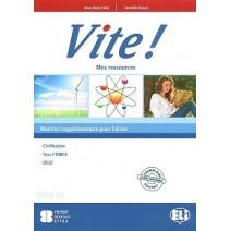 Vite! 1 Mes ressources + CD audio - 9788853606143