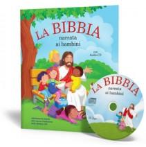La Bibbia narrata ai bambini con Audio-CD - 9788846829672
