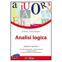 Analisi logica - Quaderno operativo - 9788846826237