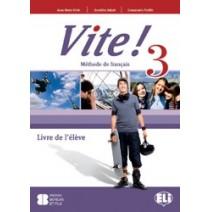 Vite! 3 Livre de l'élève - podręcznik - 9788853606099