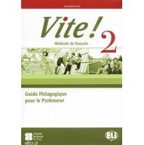 Vite! 2 Guide Pédagogique pour le Professeur + 3 CD audio - 9788853606129