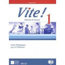 Vite! 1 Guide Pédagogique pour le Professeur + 3 CD audio - 9788853606112