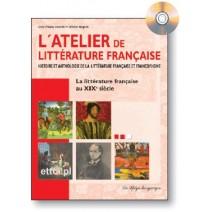 L'atelier de la littérature française - XIXe siècle + CD - 9788846819246