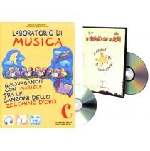 Laboratorio di musica C + CD audio + DVD video - 9788846825001