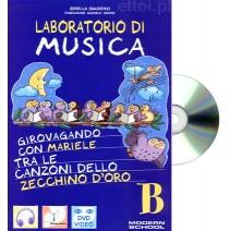 Laboratorio di musica B + CD audio - 9788846824967