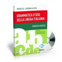 Grammatica d'uso della lingua italiana + CD audio - 9788853607669