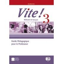 Vite! 3 Guide Pédagogique pour le Professeur + 3 CD audio - 9788853606136