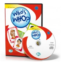 Gra językowa Who's who?  - CD-ROM - 9788853613998