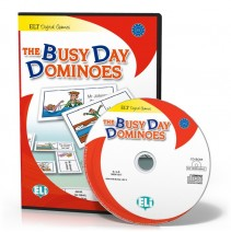 Gra językowa The Busy Day Dominoes - CD-ROM - 9788853614070