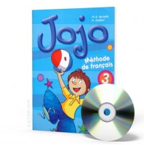 Jojo 3 podręcznik - livre de l'élève + CD audio Chansons - 9788853613820