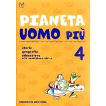 Pianeta Uomo 4 + lettura - 9788849303513