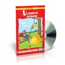 La cigale et la fourmi + CD audio - 9788881487745