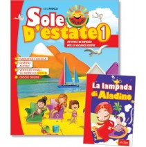 Sole d'estate 1 + libro di narrativa - 9788846830203