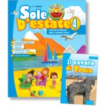 Sole d'estate 4 + libro di narrativa - 9788846830234