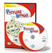 Gra językowa Picture Bingo - CD-ROM - 9788853613875